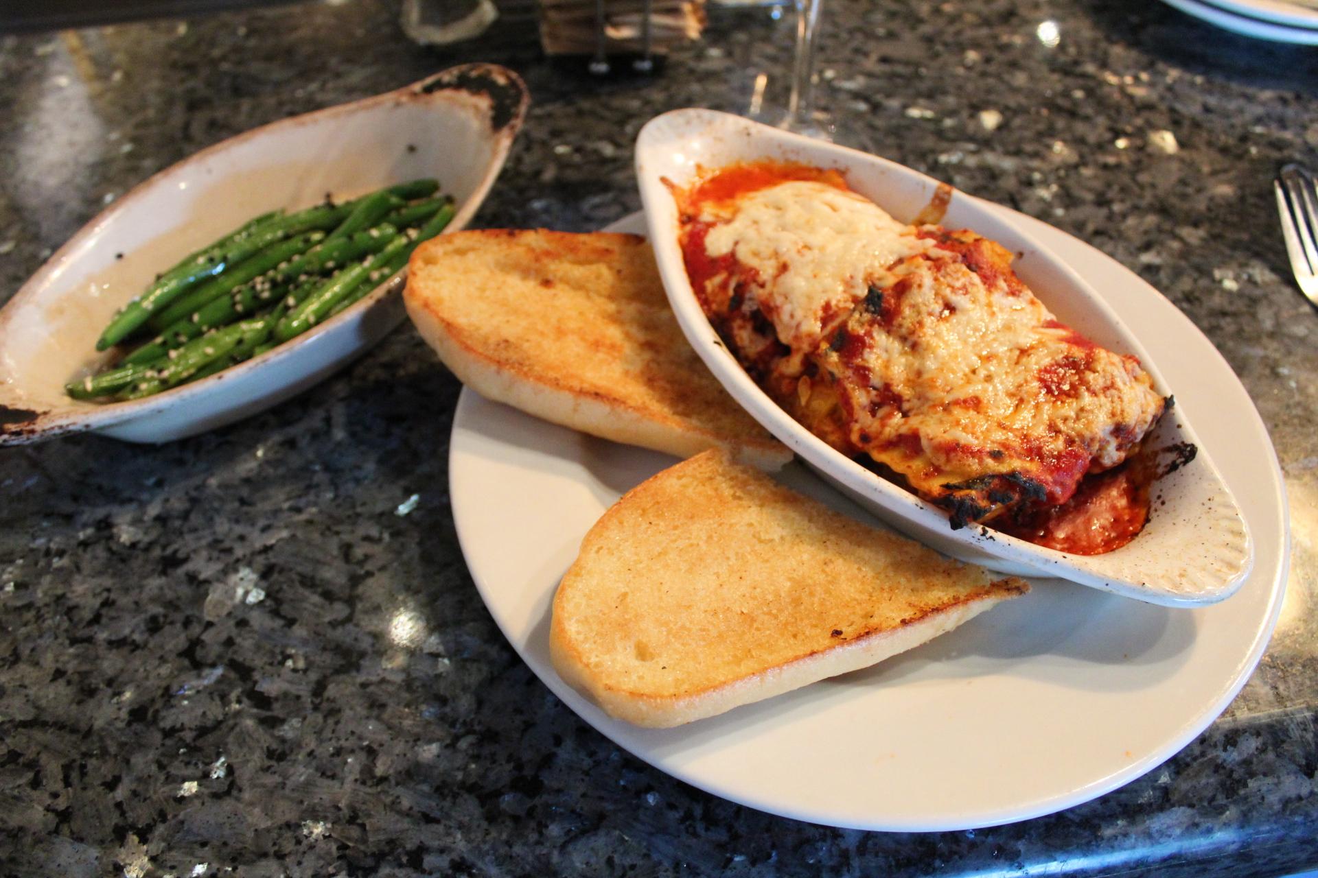 Yo Mamas lasagna at ethos vegan kitchen fabulously overdressed emily