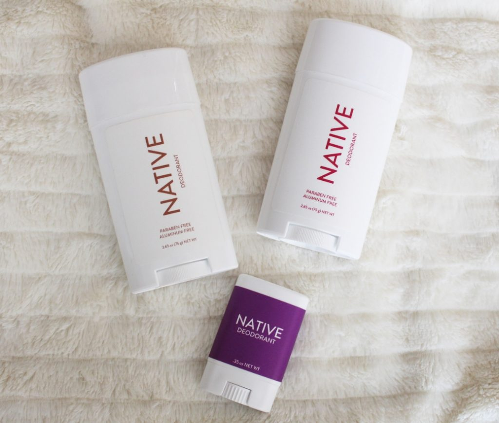 Recent Favorites featured by top Orlando life and style blog, Fabulously Overdressed: image of  Native deodorant