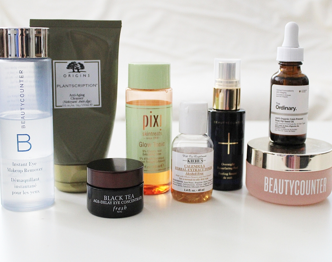 Anti aging skincare routine Fabulously Overdressed