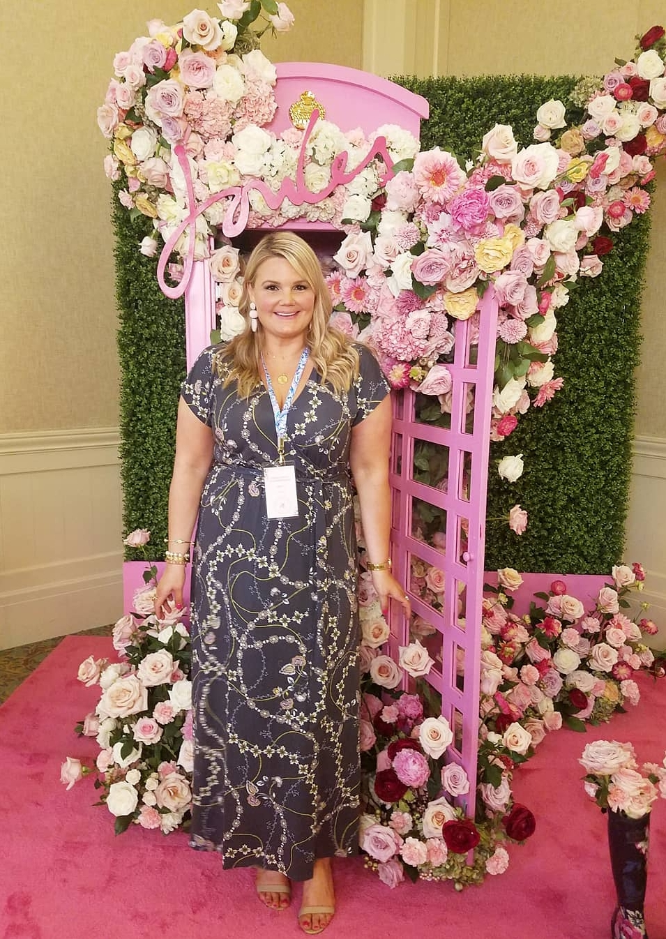 Joules USA photo booth tbscon 2019 fabulously Overdressed