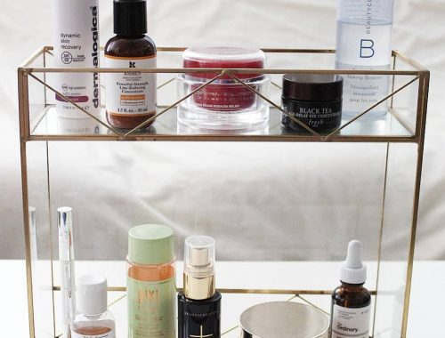 Anti-aging skincare routine fabulously overdressed