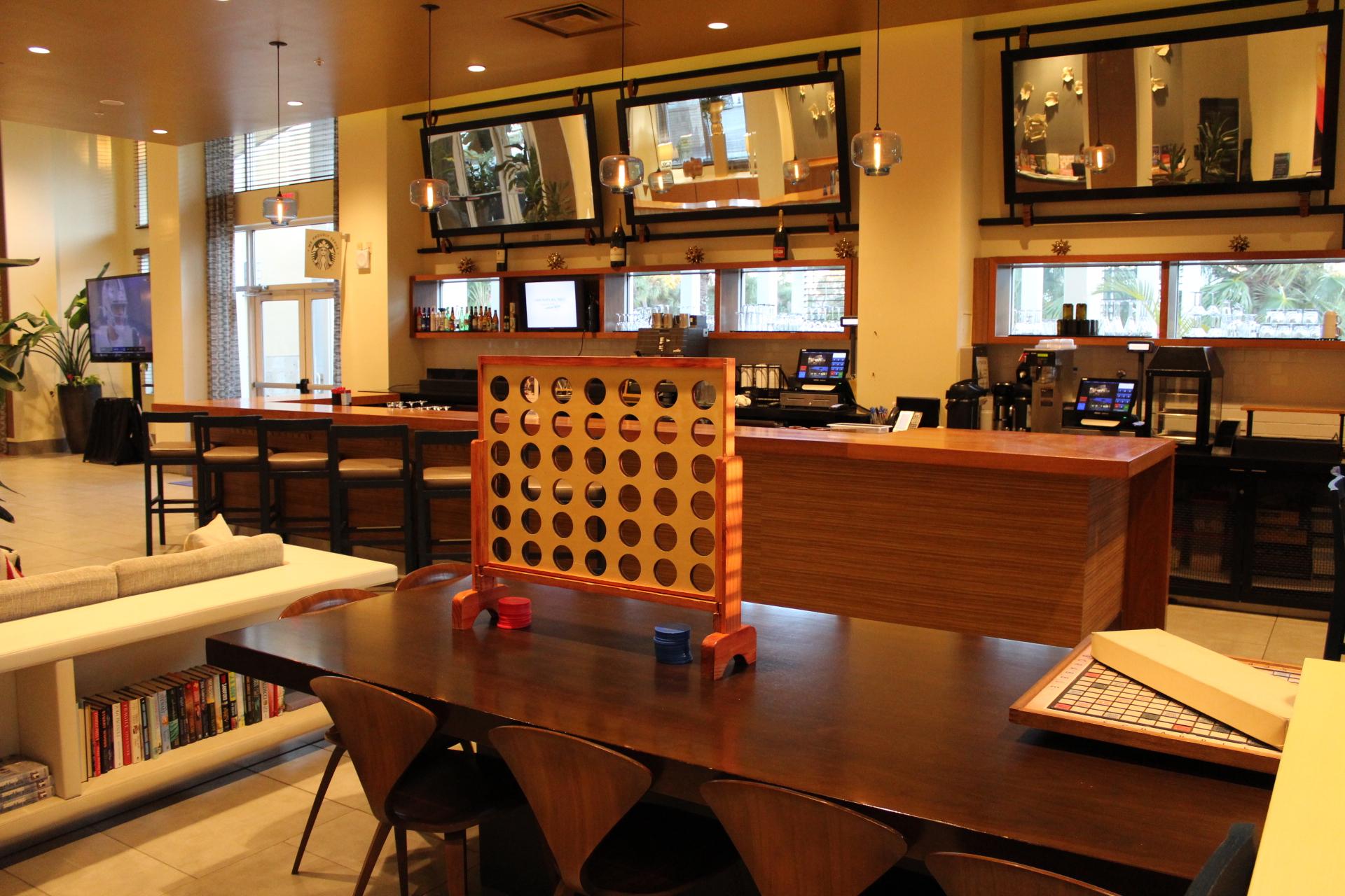 Lobby bar at Wyndham Orlando resort International drive