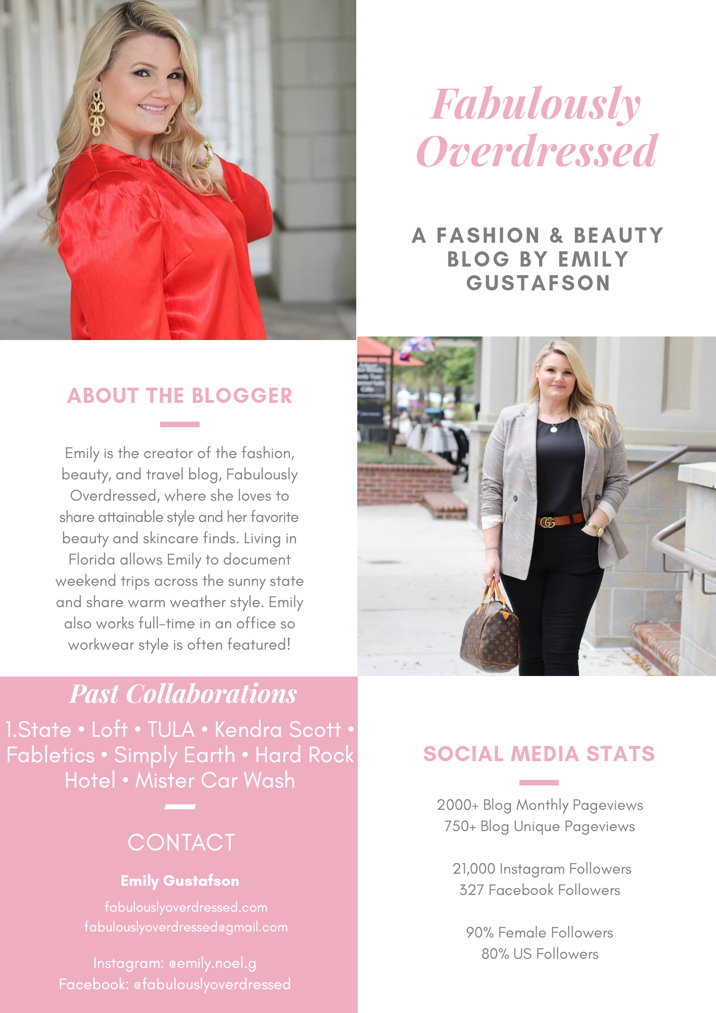 Top Orlando Fashion and Beauty Blogger Emily of Fabulously Overdressed