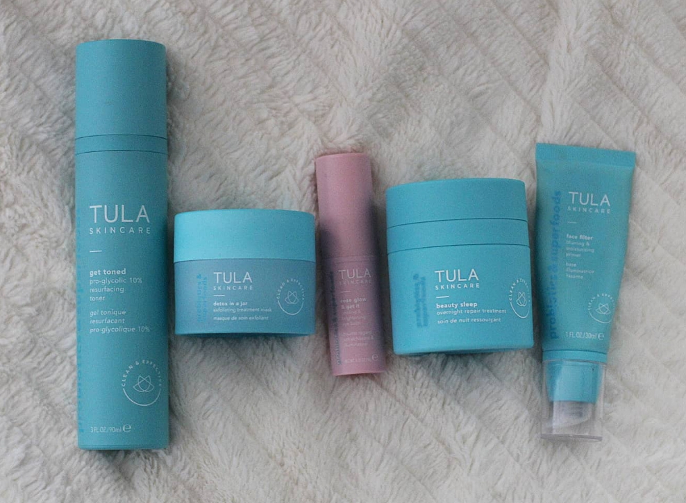 Orlando fashion and beauty blogger Emily of Fabulously Overdressed shares her favorite Tula Skincare products!