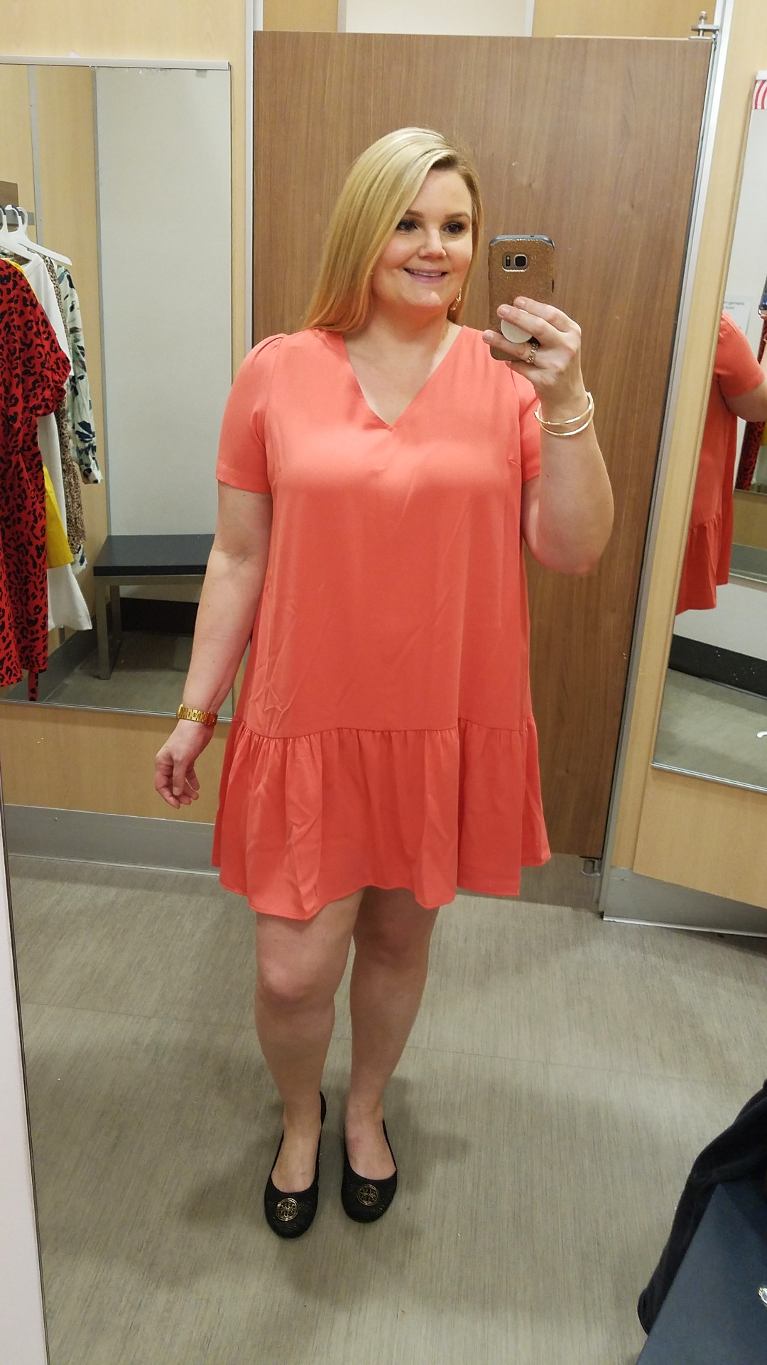 Orlando blogger Emily of Fabulously Overdressed shares spring dresses from Target