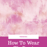 Orlando blogger Emily of Fabulously Overdressed on how to wear the tie dye trend!