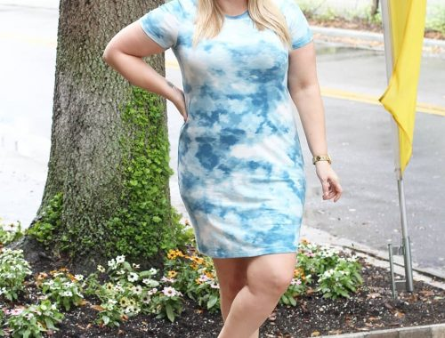 Orlando blogger Emily of Fabulously Overdressed shares how to wear the tie dye trend!