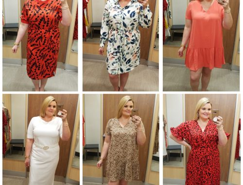 Orlando blogger Emily of Fabulously Overdressed shares her Target Spring Dress try-on session!