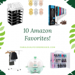 Orlando blogger Emily of Fabulously Overdressed shares 10 Amazon Home Favorites!