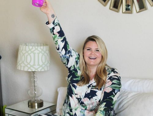 Orlando blogger Emily of Fabulously Overdressed shares The Most Comfortable PJ's