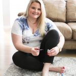 Orlando blogger Emily of Fabulously Overdressed shares how to do a salon pedicure at home