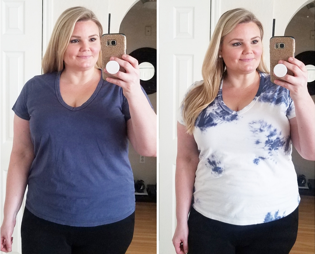 Orlando blogger Emily of Fabulously Overdressed shares these affordable basic tees from Target. r