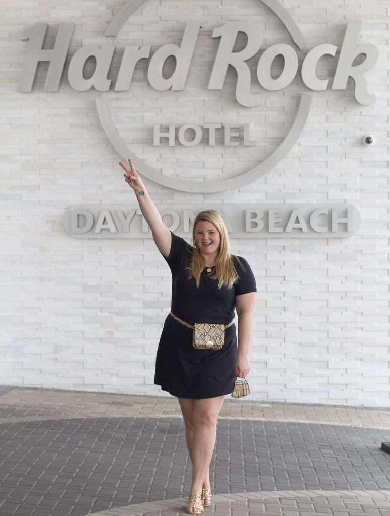 Partying at Hard Rock Daytona Beach With Emily from Fabulously Overdressed