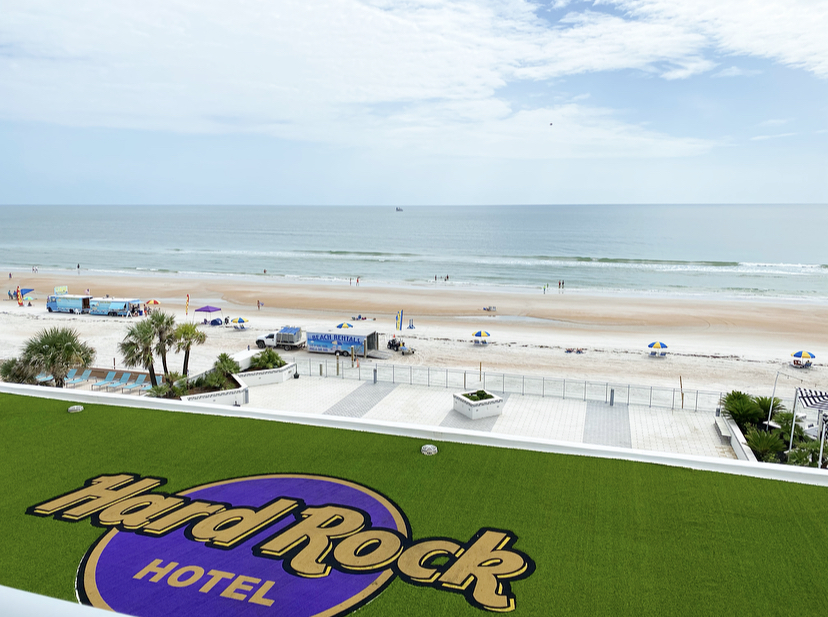 Hard Rock Hotel Daytona Beach View from the room Fabulously Overdressed