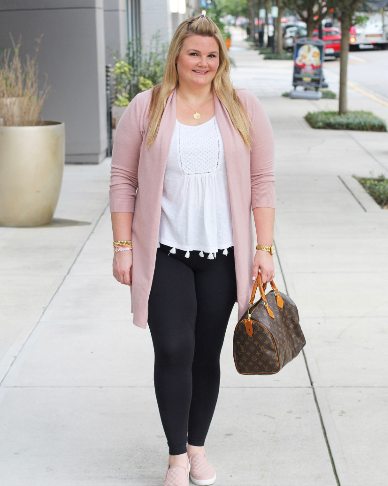 Nordstrom Sale Cardigan and Leggings fabulously overdressed