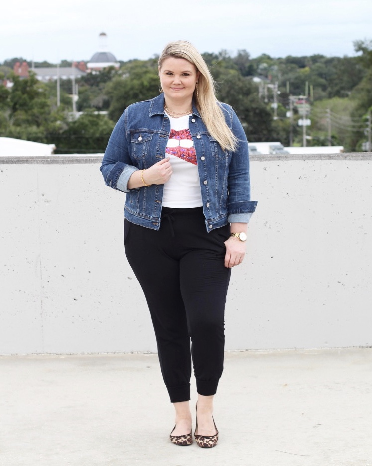 Casual joggers styling with Emily of Fabulously Overdressed