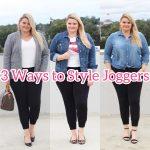 Emily of Fabulously Overdressed shares 3 Ways to Style Joggers