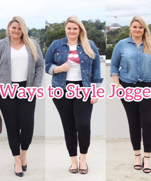 Emily of Fabulously Overdressed shares 3 Ways to Style Joggers