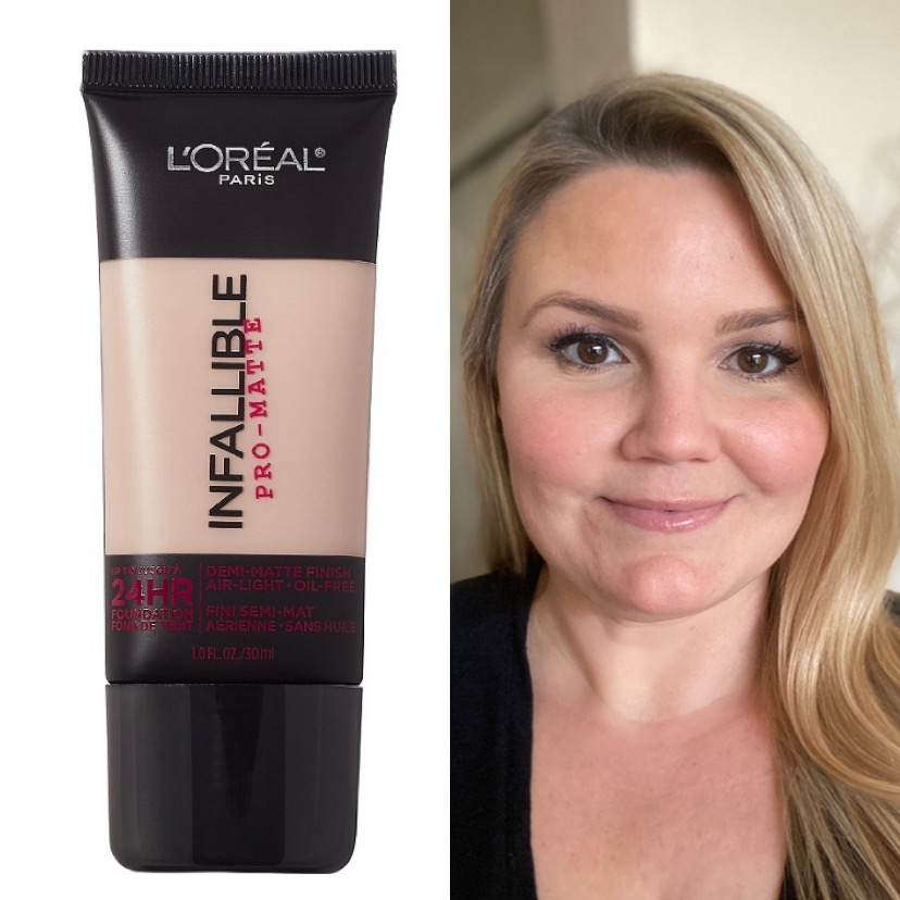 Emily if Fabulously Overdressed blog shares her L'Oréal Infalliable Pro-Matte Foundation Review