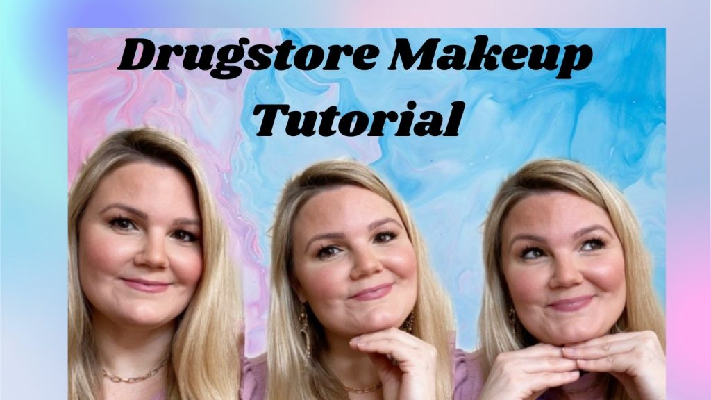 Blogger Emily of Fabulously Overdressed shares a Drugstore Makeup Tutorial