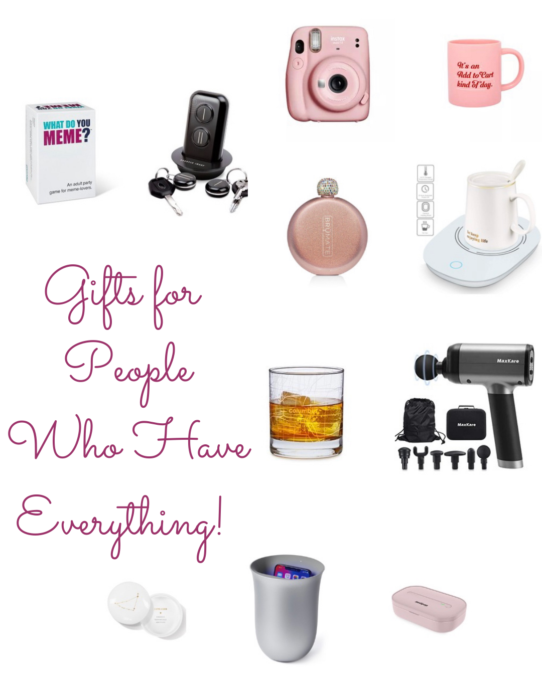 Gift Guide for the Person Who Has Everything By top Blogger Fabulously Overdressed