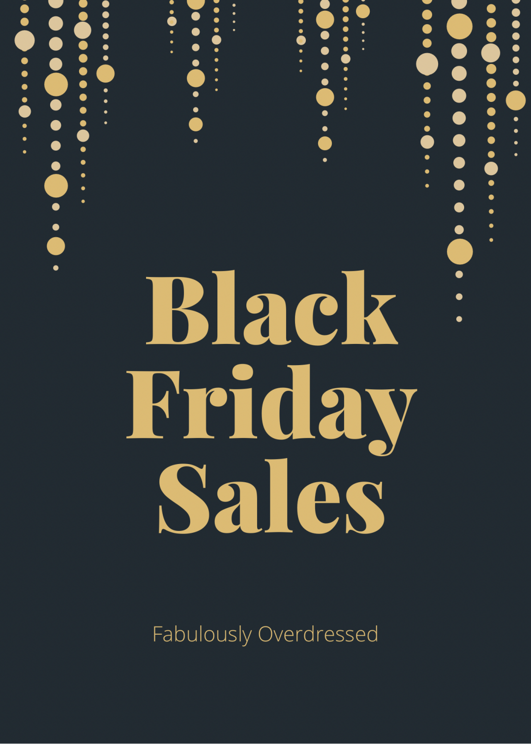 Fabulously Overdressed Blog shares her top Black Friday Sales