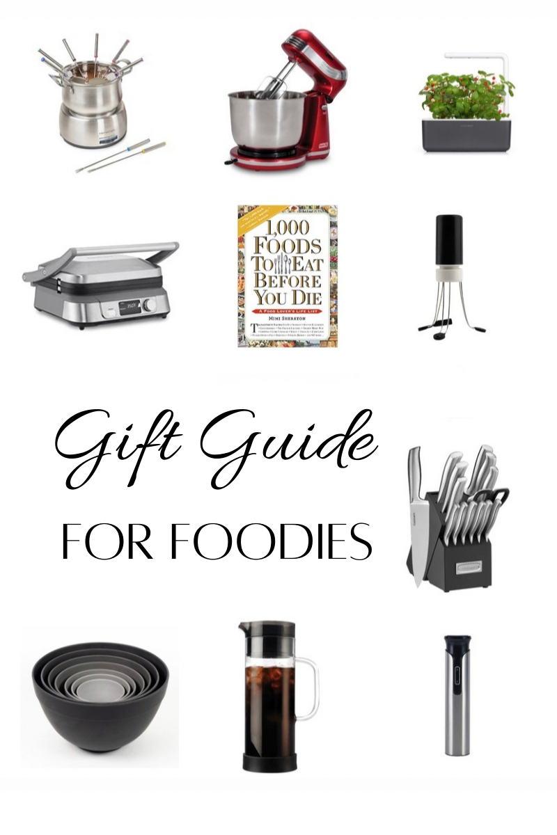 Top blogger Emily of Fabulously Overdressed shares her Gift Guide for Foodies