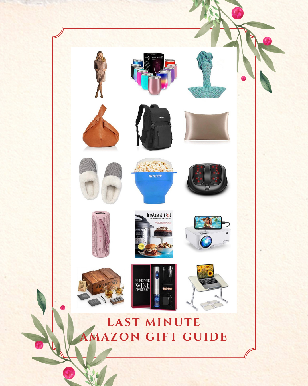 Top blogger Emily of Fabulously Overdressed shares her Last Minute Amazon Gift Guide