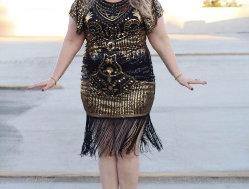 Roaring 20s Sequin Dress- Fabulously Overdressed