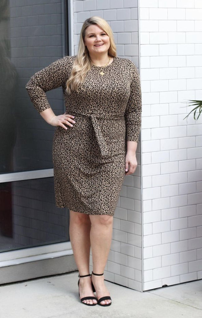 Leopard print dress for work fabulously overdressed
