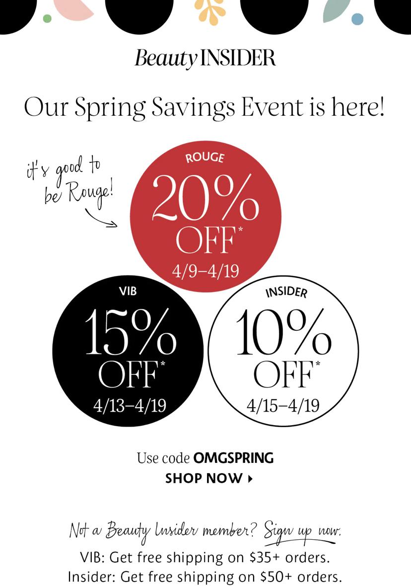 Sephora Spring Sale 2021