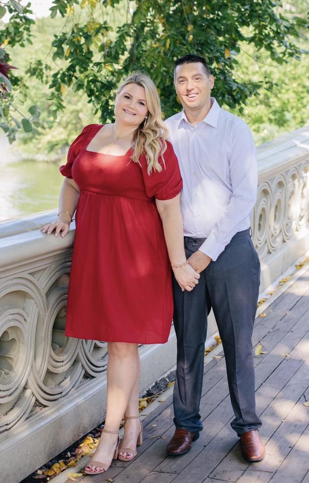 Bow Bridge- Central Park Engagement Photos