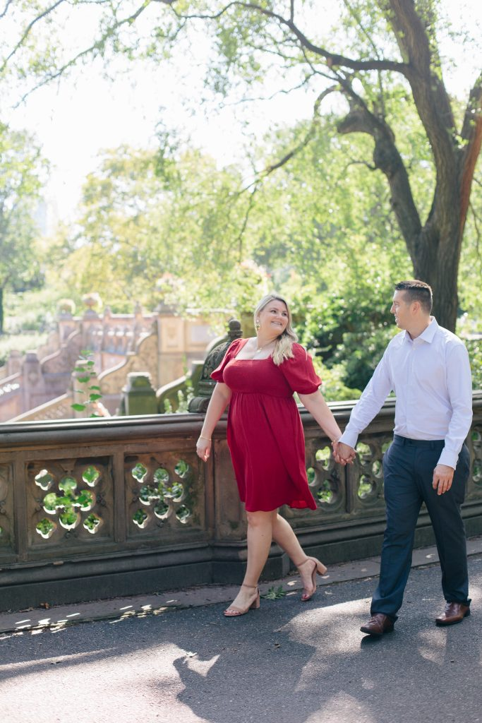 The Story of Us- Central Park engagement session