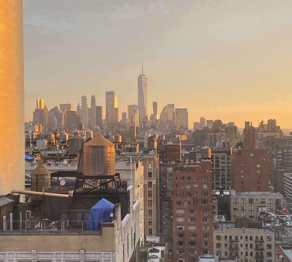 View of downtown Manhattan from Chelsea